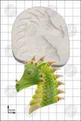 'Dragon Head' Silicone Mould